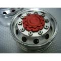 1/14 rc car truck 1 pair CNC wheel front wheel for Tamiya Man r620 2013 Actros