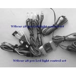1/12 Led Controller Lights For 1/14 Tractor Excavator Forklift Truck