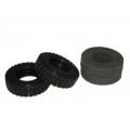 1/14 rc car truck size 81mm  rubber  tyres tire #5 for Man scania