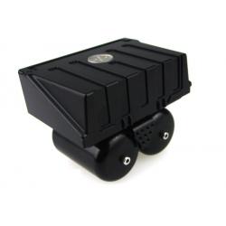 1/14 all metal truck air reservoir tank set with tool box for tamiya 6X6 8X8 DIY*