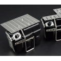metal wtbcar truck urea tank & airtank battery box & ladder for 1/14 tamiya mercedes 1851 3363