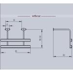 Wtbcar metal side bumper for 1/14 tamiya scania mercedes Man etc