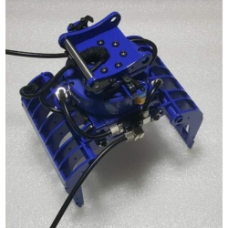 Hydraulic metal  grabber functioning rotating arm for 1/12 1/14 Excavator