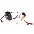 1/14 rc car METAL parts hydraulic Pump w/ ESC  for tamiya truck MAN  scania etc