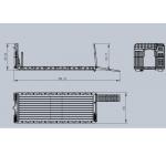 WTBcar 1/14 RC roll on / off tipper SET for 8x8 truck , Expert DIY option modify **