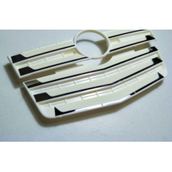 metal sticker decoration for front grill set 1/14 tamiya Mercedes Actros 3363 1851