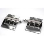 pair of  rear metal fender for 1/14 US EURO truck trailer King Hauler etc
