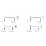 Metal made Air horn a pair for 1/14 semi trailer scania mercedes V3 long & short