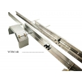 80cm 8x4 stainless steel Dump truck chassis for expert use DIY 1/14 tamiya ***