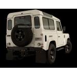 1/10 set of 4pcs Land Rover Defender D90 mud flaps