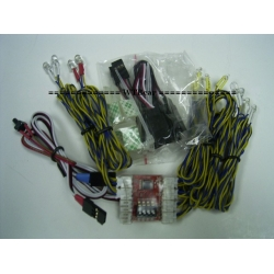 1/10 WTBcar RC Car ighting control with 18 led  for hilux TF2 etc *