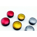 set of Six 6 round size color lamp for 1/10 , 1/14 RC model @10mm diameter