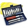 13 in 1 MICRO  HOBBY / handscraft KNIFE BOX SET