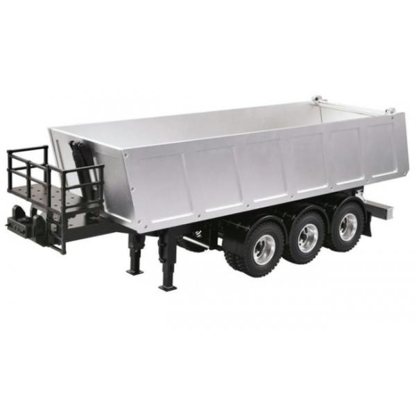Dump Truck 3 Axles : Dump truck axle semi trailer all metal for