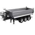 Dump Truck 3-Axle semi Trailer for 1/14 scania man benz actros etc *