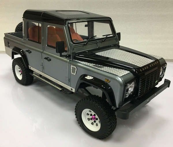 Metal Plate For 1/10 Land Rover D90 D110 D130 Double Cap