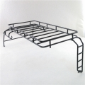 Metal Roof Rack with ladder for 1/10 Land Defender D110