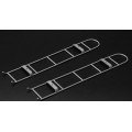 1/14  a pair metal Hino 700 construction ladder model  For Tamiya Scaleart Carson