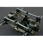 1/14 Rc parts for Tamiya double axles suspension w/ axles Combo SET