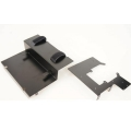 metal wtbcar 2nd desk body battery holder set for tamiya 1/14 scania