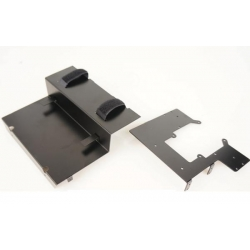 metal wtbcar 2nd desk body battery holder set for tamiya 1/14 1851 benz
