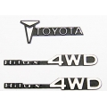 1/10 RC CAR for tamiya / TF2 hilux  mountaineer logo set