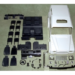 1/10 RC car Military D90 land rover hard plastic body set