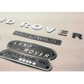 1/10 RC CAR CC01 D90 rover option metal logo parts for SCX10 track TR2 finder