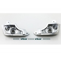 plastic chrome coated a pair light base for 1/14 Tamiya actros mercedes Benz spare parts