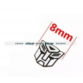 8mm width transformers logo metal decal for 1/10 1/14 RC car *