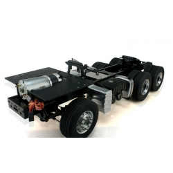 1/14 CNC ALL METAL CHASSIS TACTOR 6X4 MAN TGX ( Body not included )