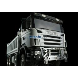 Metal Animal Guard bumper Tractor Truck for 1/14 tamiya scania