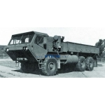 1/10.5  M977 HEMTT military truck RC car 6x6  body and parts