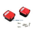 option rear light cover parts ( painted ) for 1/10 Tamiya Jeep rc car