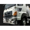 Chrome silver plastic front bumper for 1/14 Hino 700 truck body