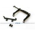 1/14 rc car truck tractor parts metal Head lock holder set or Tamiya scania ( wide ver )