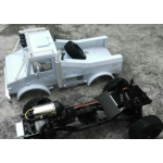 1/10.5  UniMog U5000 Offroad Truck RC car body and parts fit SCX10 ..etc*