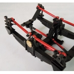 1/14 RC car option metal double axial Rear Block for tamiya truck suspension set R*