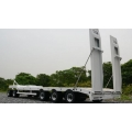 Heavy steel metal  lower semi low bed trailer flat bed set for 1/14 truck*