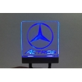 Led decoration transparent logo light effect for tamiya 1/14 mercedes benz Actros 3363*