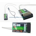 Receiver ( 6ch IA6 ) for FlySky FS-i6 2.4GHz 6-Channel Transmitter
