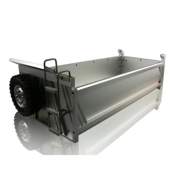 cnc metal tipper truck dump parts diy  unpainted heavy weight