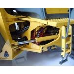 1/14 rc car METAL parts hydraulic cylinder for tamiya truck 83-131mm travel