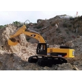 1/12 Scale Earth Digger  Hydraulic Excavator - half KIT