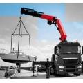 High quality Metal Truck Mounted Hydraulic Crane palfinger SET
