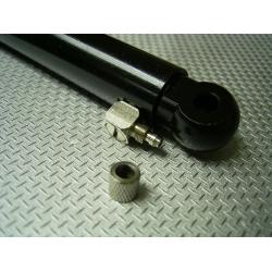 1/14 rc car METAL parts hydraulic cylinder for tamiya truck 80mm travel