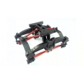 1/14 RC car option metal double axial Rear Block for tamiya truck suspension set R