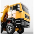 1/14 Man TGA construction truck yellow painted body set  fit tamiya chassis *