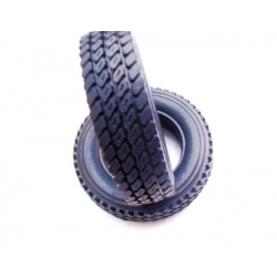 1/14 rc car truck small size 75mm  rubber  tyres tire #4 for trailer