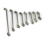 1/14 rc car truck parts CVD110-130mm Stainless Steel drive shaft propshaft for Tamiya scania